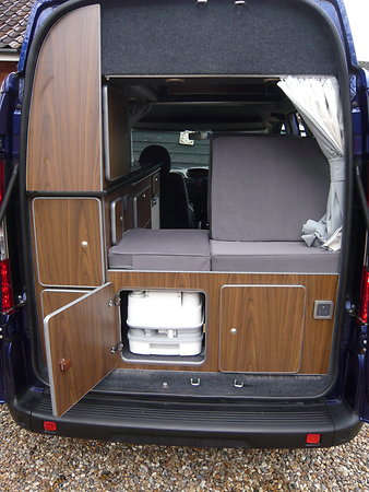 Fiat Doblo Motorhome 1berth Conversion