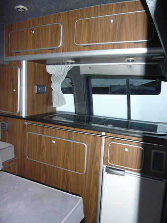 FIAT DOBLO MOTORHOME 1BERTH CONVERSION. Pd2