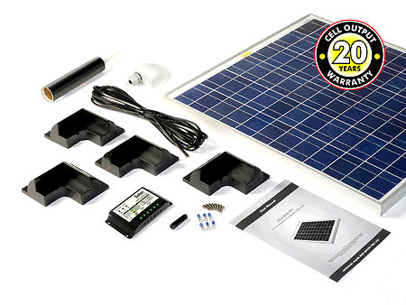 Motorhome, Campervan & Boat solar panel kits for sale. 60kit