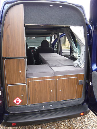 FIAT DOBLO MOTORHOME 1BERTH CONVERSION. Pd4