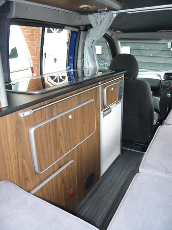 FIAT DOBLO MOTORHOME 1BERTH CONVERSION. Pd3
