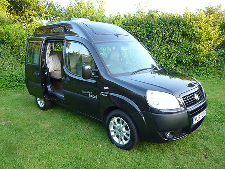 FIAT DOBLO MOTORHOME  WITH NEW CONVERSION FOR SALE . bdext