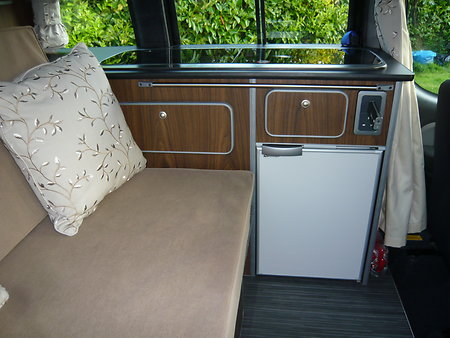FIAT DOBLO MOTORHOME  WITH NEW CONVERSION FOR SALE . bdint1